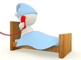 3d Man in bed TPD icon120